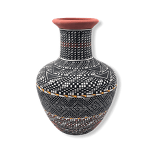 Load image into Gallery viewer, Acoma Multi Pattern Pot by M. Antonio