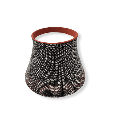 Image of Acoma Native American Pot By Melissa Antonio