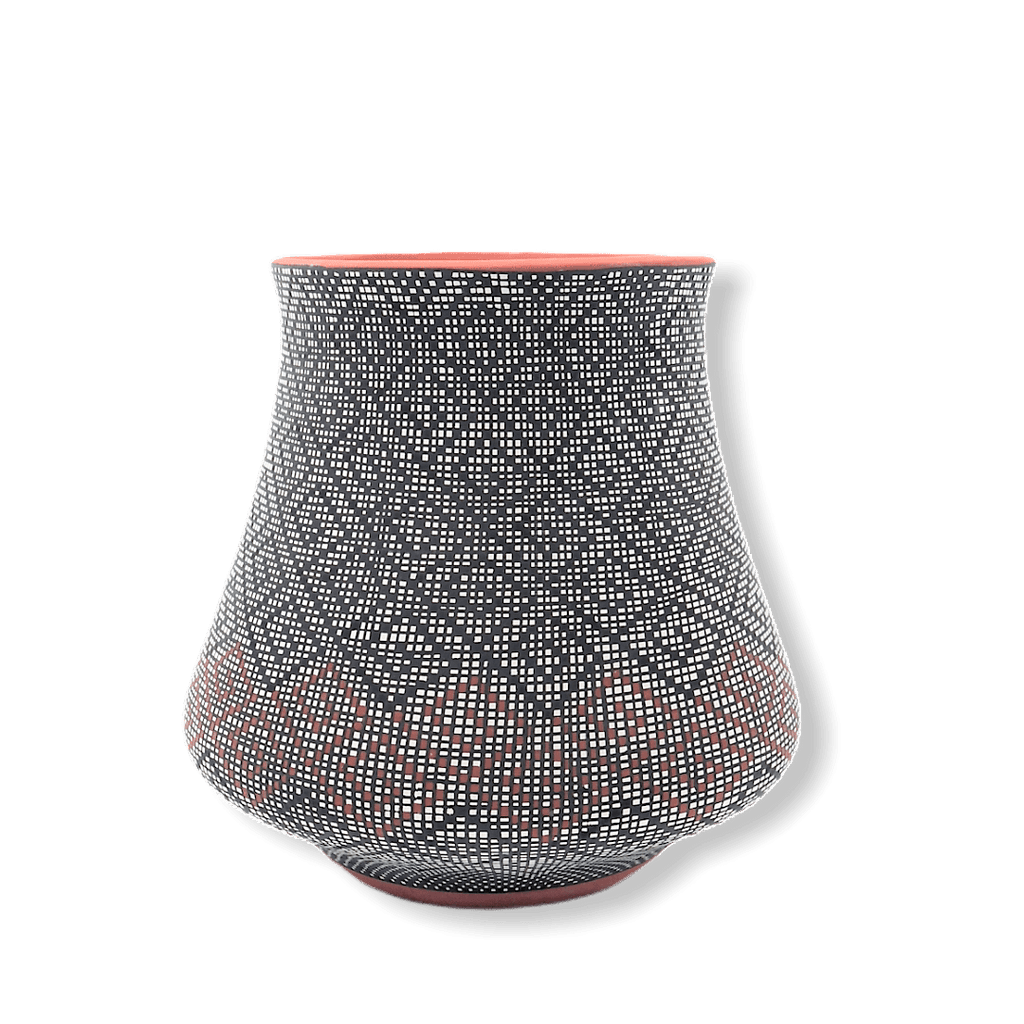 Acoma Native American Pot By Melissa Antonio