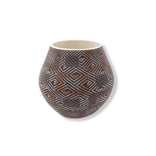 Load image into Gallery viewer, Acoma Square Design Pattern Pot by Frederica Antonio