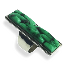 Load image into Gallery viewer, Carlos Eagle Cobble Stone Turquoise Ring