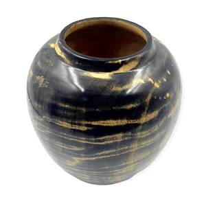 Cotton Wood Turned Vessel by S. Heath