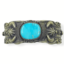 Load image into Gallery viewer, Delbert Gordon Kingman Turquoise Bracelet