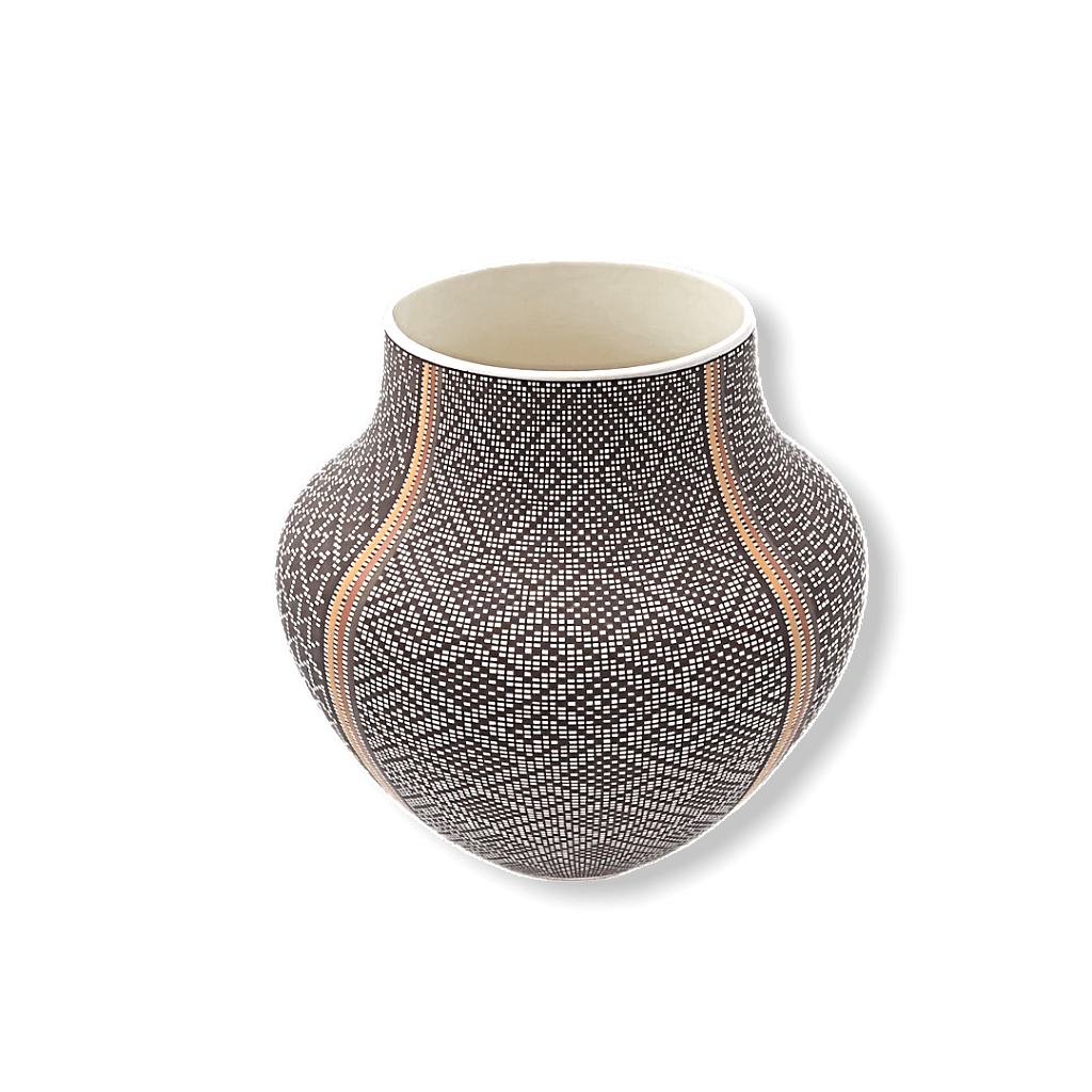 Four Seasons Pot by Frederica Antonio-Acoma Pueblo