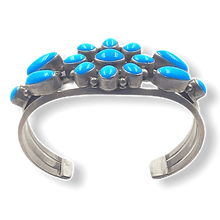 Load image into Gallery viewer, High Grade Sleeping Beauty Navajo Bracelet-Ray Bennettt