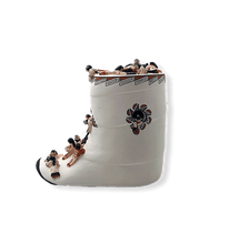 Load image into Gallery viewer, Intricate Moccassin-Boot Story Teller by Dena Suina