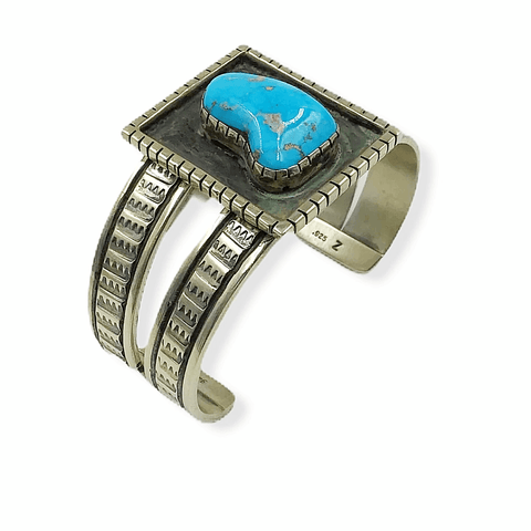 Image of Juan Willie Pawn Turquoise Bracelet -Navajo
