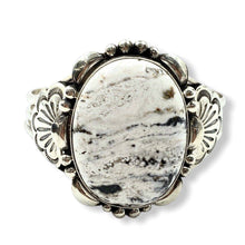 Load image into Gallery viewer, SOLD Large Oval White Buffalo Brace