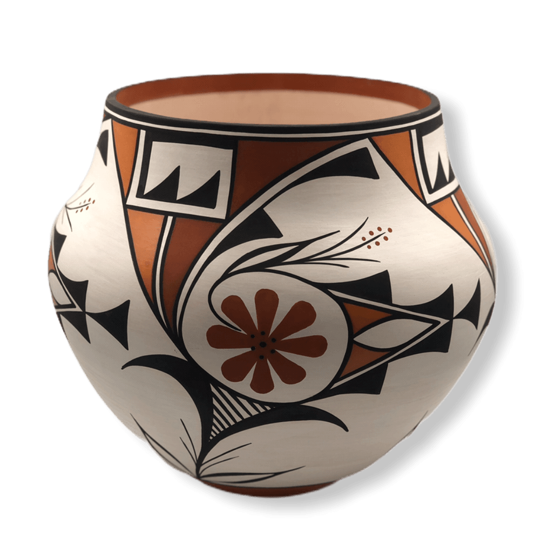 Large Traditional Acoma  Pot