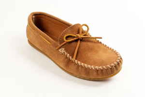 Minnetonka Men's Classic Moccasin Taupe 917T