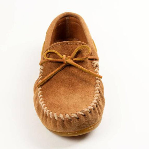 Image of Men's Classic Moccasin Taupe 917T