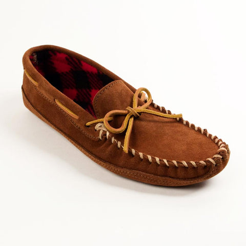 Men's Double Bottom Fleece Moccasins 773
