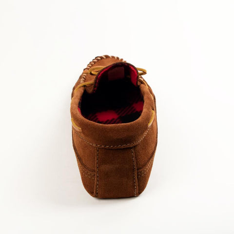 Image of Men's Double Bottom Fleece Moccasins 773