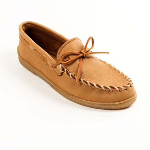 Image of Men's Moosehide Classic Moccasins Natural 890