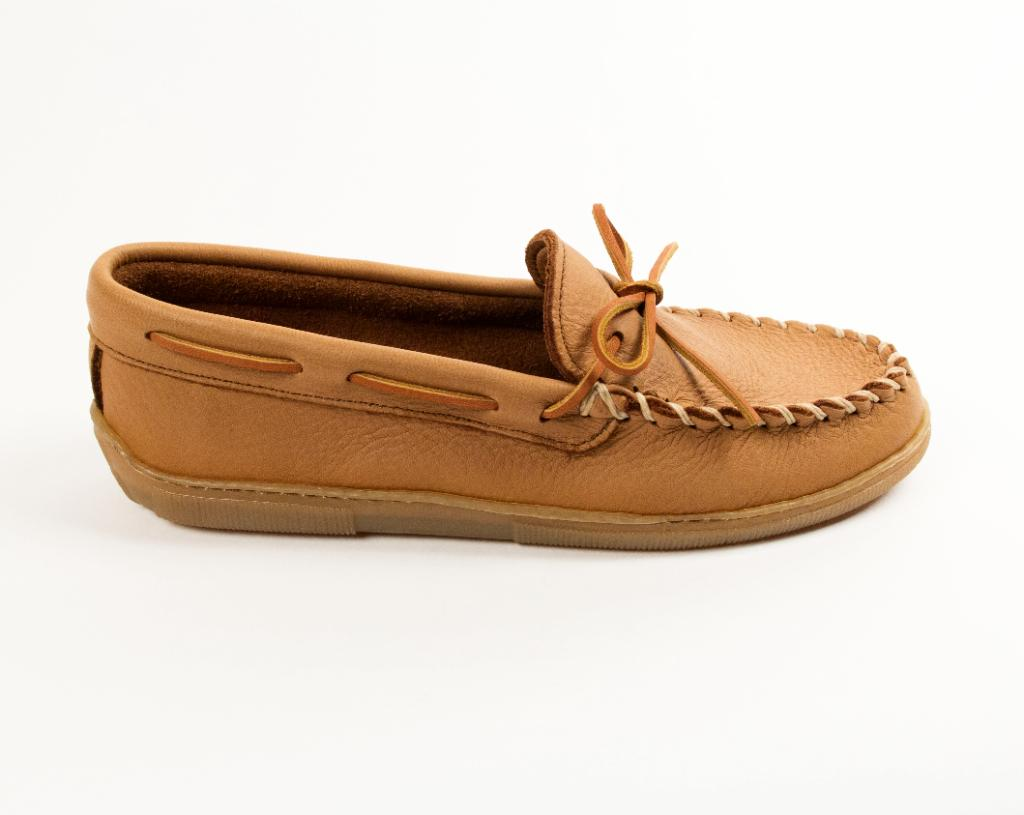 Men's Moosehide Classic Moccasins Natural 890