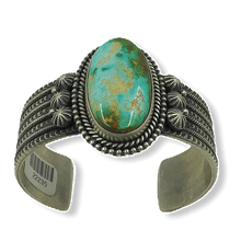 Load image into Gallery viewer, Mike Calladitto Royston Turquoise Bracelet- Navajo