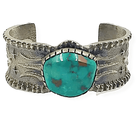 Image of Monty Claw Royston Turquoise Bracelet -Navajo