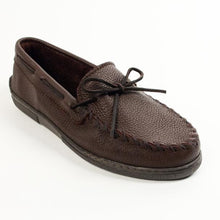 Load image into Gallery viewer, Minnetonka Moosehide Classic Moccasins Chocolate 892