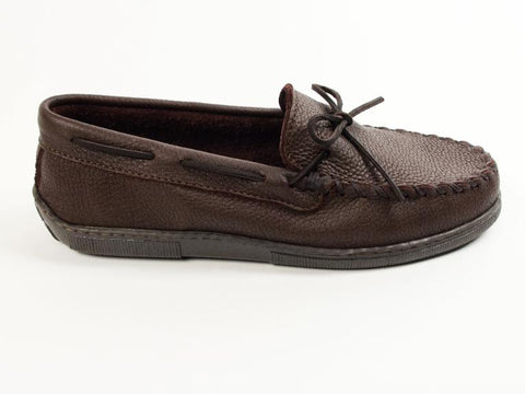 Image of Moosehide Classic Moccasins Chocolate 892