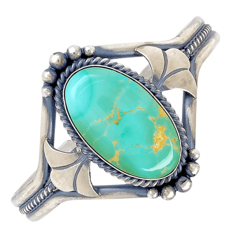 Image of Native American Bracelet - Navajo Royston Turquoise Bracelet - Mary Ann Spencer