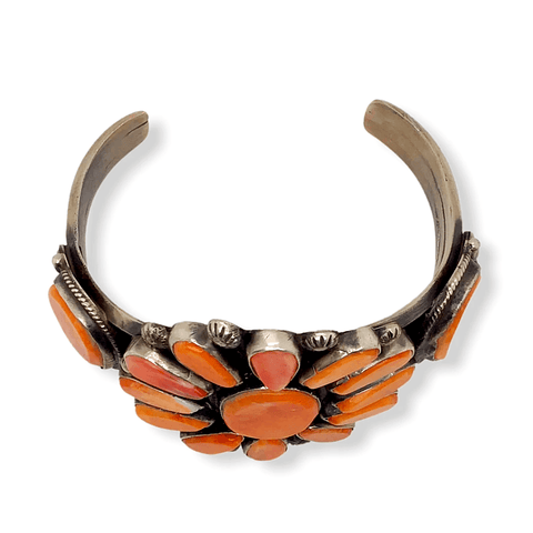 Image of Native American Bracelet - Navajo Spiny Oyster Bracelet -Dean Brown
