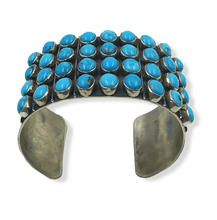 Load image into Gallery viewer, SOLD Navajo Turquoise Bra.celet