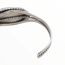 Load image into Gallery viewer, Native American Bracelet - Royston Elongated Oval Bracelet - Samson Edsitty Navajo