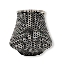 Load image into Gallery viewer, Acoma Geometric Pot by Melissa Antonio