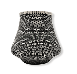 Acoma Geometric Pot by Melissa Antonio