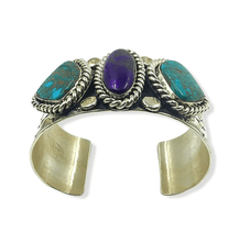Load image into Gallery viewer, Navajo Multi Color Pawn Bracelet