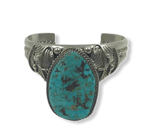 Load image into Gallery viewer, Navajo Turquoise Drop Stone Pawn Bracelet