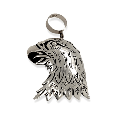 Native American Necklaces & Pendants - Sterling Silver Eagle Pendant By  Tommy & Rosita Singer - Navajo