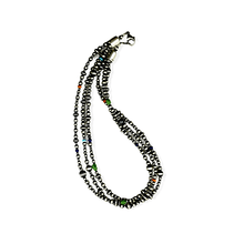 Load image into Gallery viewer, Native American Necklaces & Pendants - Three Strands Of Navajo Pearls With Multi-Colored Beads