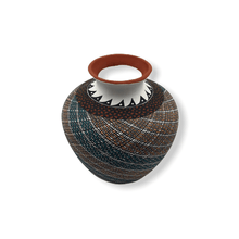 Load image into Gallery viewer, Acoma Swril Pot by Melissa Antonio