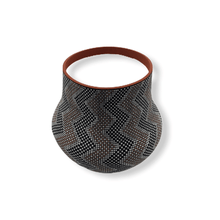 Load image into Gallery viewer, Native American Pot - SOLD Acoma Thunder-Pattern Po.t By M. Antonio