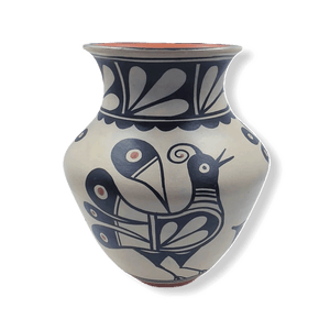 Native American Pot - SOLD Kewa Large Bird By T. Tenorio