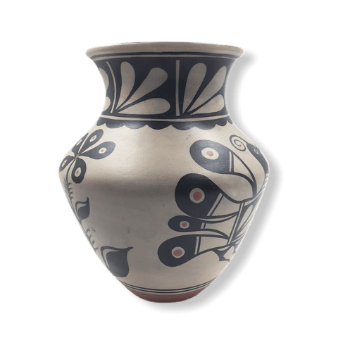 Image of Native American Pot - SOLD Kewa Large Bird By T. Tenorio