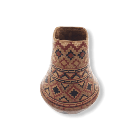 Image of Native American Pot - SOLD Long Red P.ot L. Wilims
