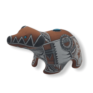 Native American Pottery - SOLD Bear By Scott Small