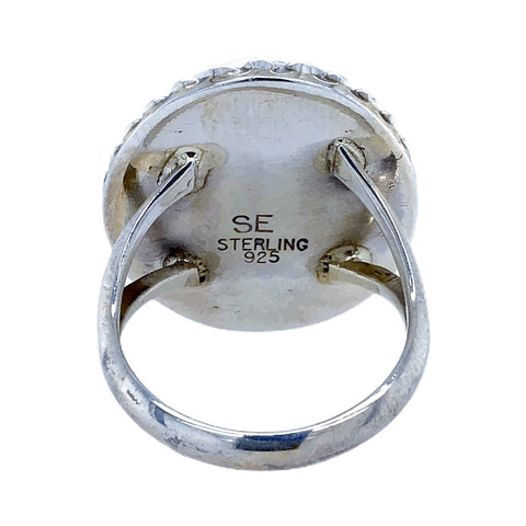 Image of Native American Ring - Navajo Oval Duchess Ring - Samson Edsitty