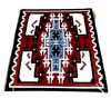 Navajo 3x4 Ganado Red Rug By L. Taylor