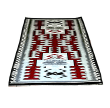 Load image into Gallery viewer, Navajo 5x4 Storm Pattern Rug by C. Yellowhorse