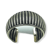Load image into Gallery viewer, Navajo Brushed Silver Pawn Bracelet
