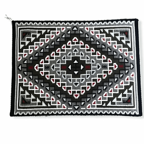 Navajo Crystal+ Two Grey Hills Rug