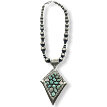 Load image into Gallery viewer, Navajo Dry Creek Necklace -Large Beads Emer Thompson