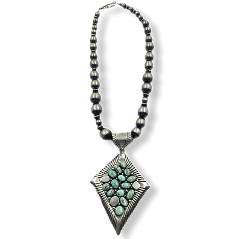 Image of Navajo Dry Creek Necklace -Large Beads Emer Thompson