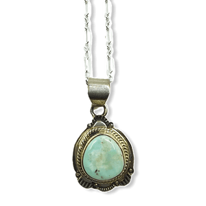 Navajo Dry Creek Pendant W/ Chain