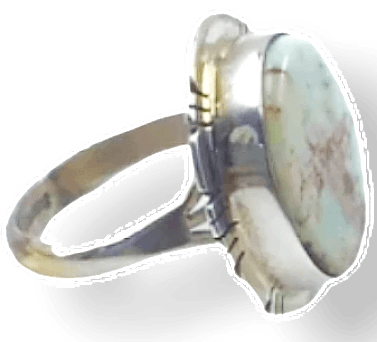 Image of Navajo Dry Creek Turquoise Ring