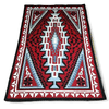 Navajo Ganado Red Rug By T. Charley