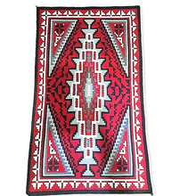 Load image into Gallery viewer, Navajo Ganado Red Rug by T. Charley